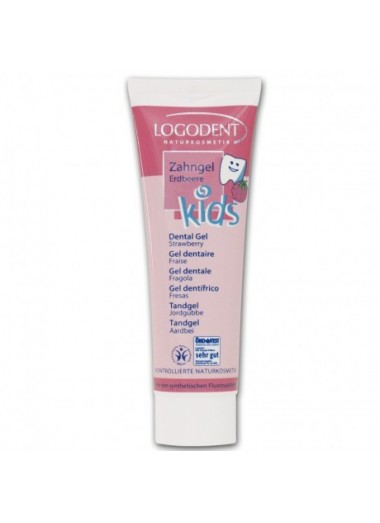 GEL DENTAL KIDS FRESA LOGONA