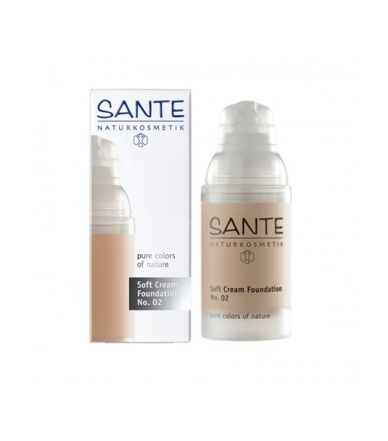 MAQUILLAJE SANTE SOFT CREAM LIGHT BEIGE 02