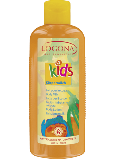 LOCIÓN CORPORAL KIDS BODY MILK LOGONA