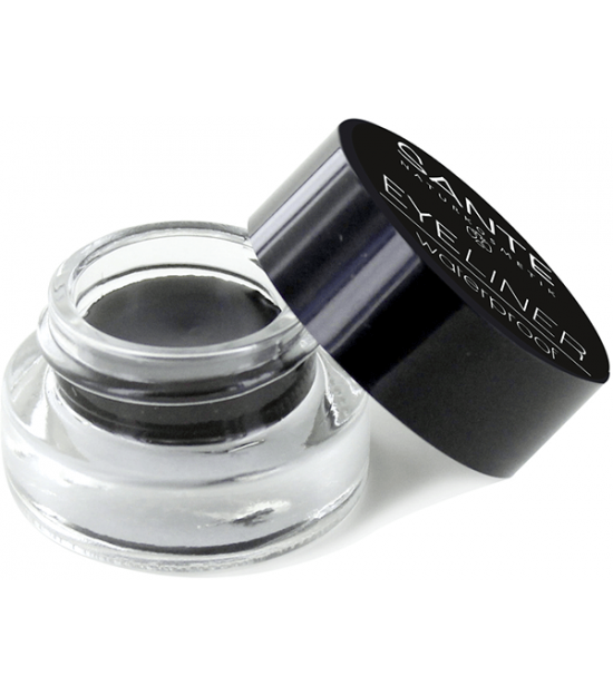 EYELINER WATERPROOF 01 STAY BLACK SANTE