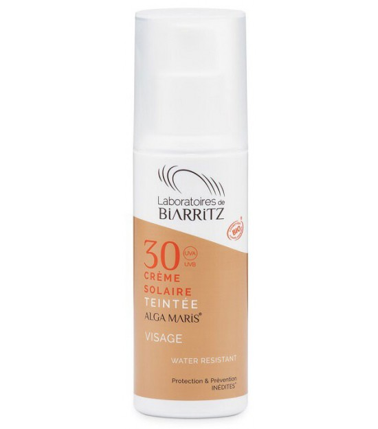CREMA SOLAR FACIAL COLOR GOLDEN SPF30 ALGA MARIS