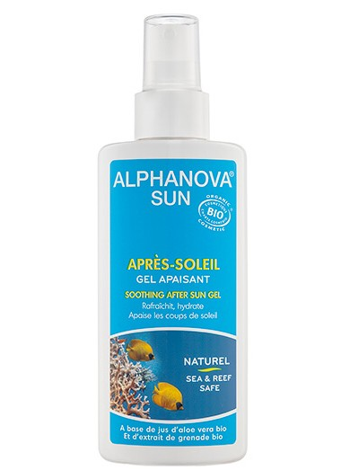 Gel calmante aftersun bio Alphanova Sun